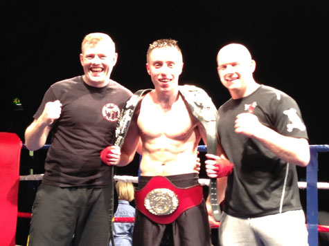 Instructor Ryan Davies - Current ISKA Full Contact World Champion
