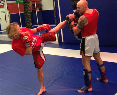 Thai Boxing under Sean Smith of Ultimate Martial Arts