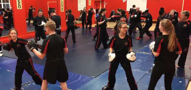 Kids KickBoxing At Sedgley