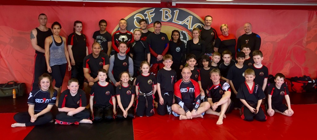 Neil Simkin Brazilian Jiu Jitsu (BJJ) Seminar at Oldbury Headquarters.