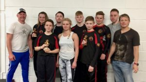 BLCC fighters at Eclipse Wolverhampton