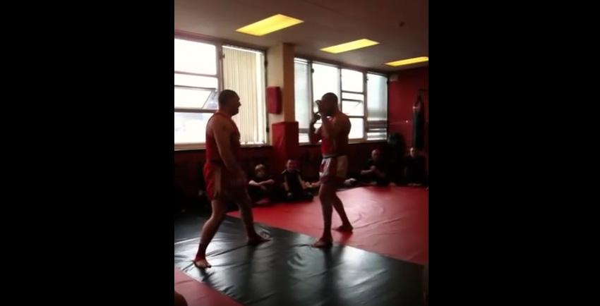 Sean Smith -Muay Thai Boxing Demo